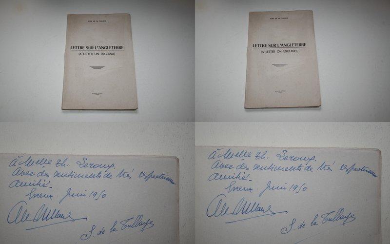 68e94612e039a Edité par l Auteur Jean de La Tullaye - Imprimerie Hérissey à Évreux. Avril  - Juin 1950
